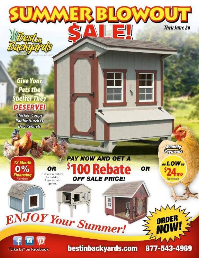 Chicken Coops and Pet Shelters June Cover
