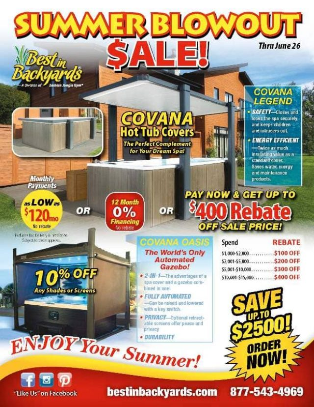 Covana Hot Tub Covers June Cover