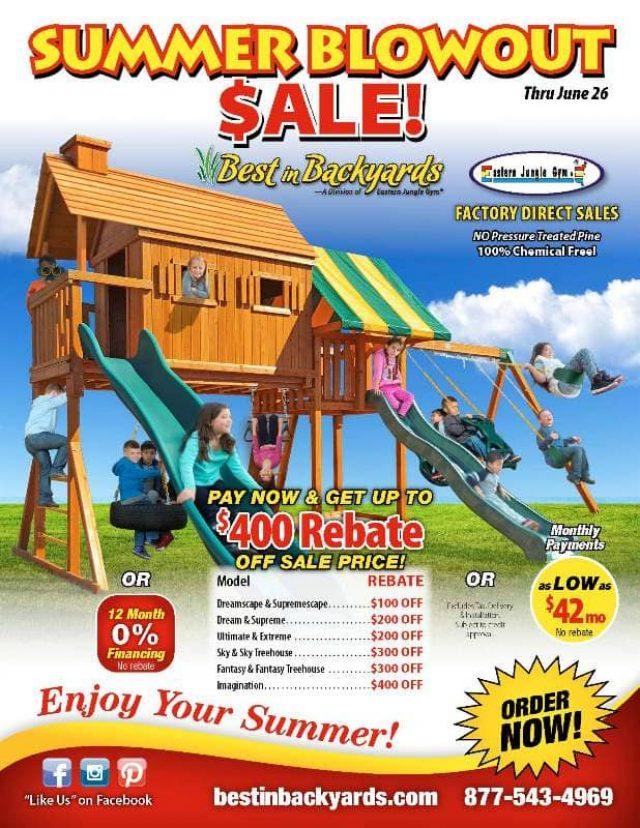 Eastern Jungle Gym Cedar Swingsets June Cover