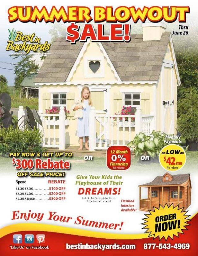 Kids Playhouses June Cover