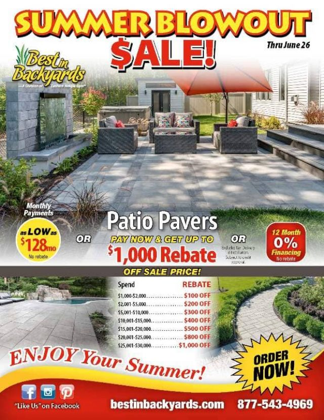 Patio Pavers June Cover