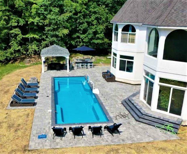 pool installation best in backyards