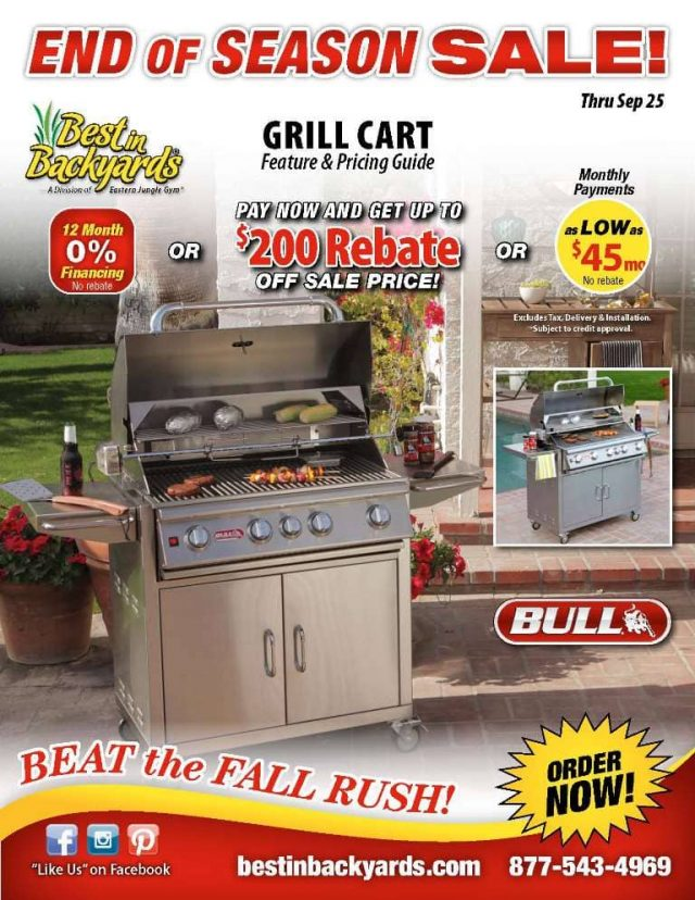 Bull Grill Carts September Cover