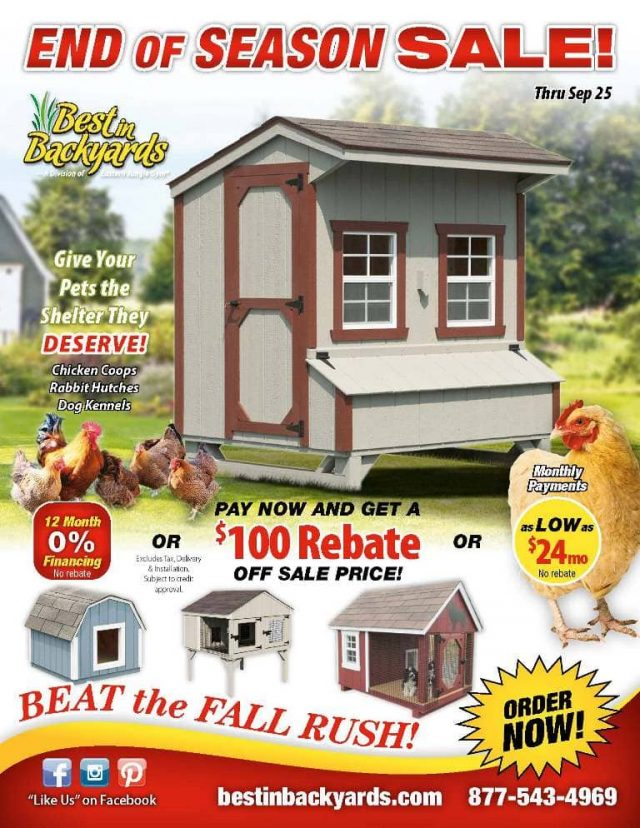 Chicken Coops and Pet Shelters September Cover