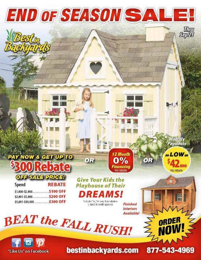 Children's Playhouses September Cover