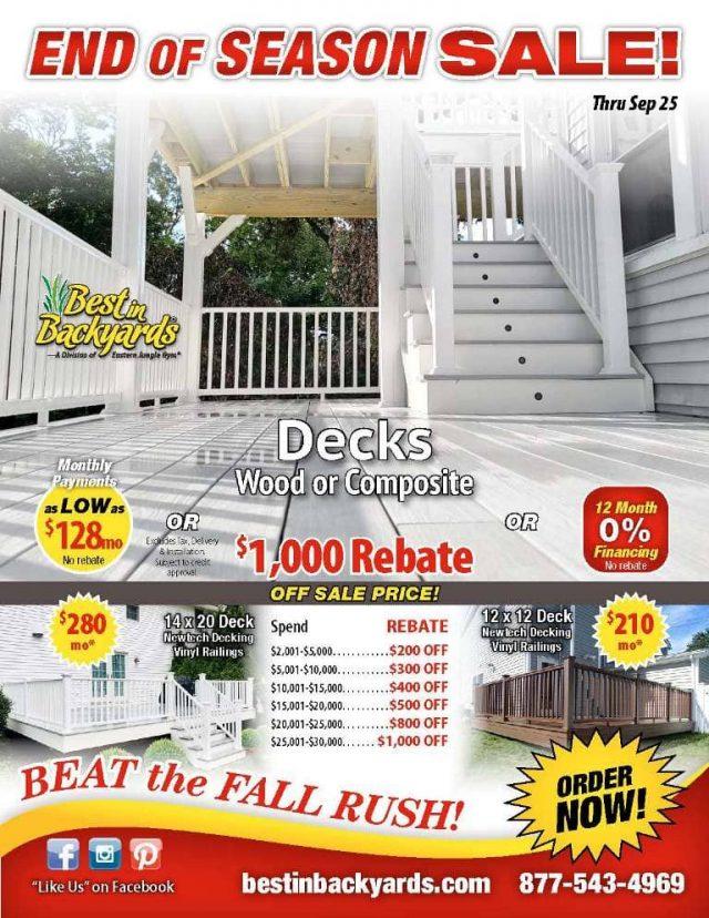 Decks September Cover