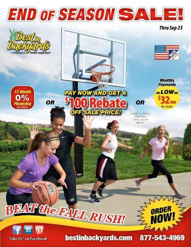 Goalsetter Basketball Systems September Cover
