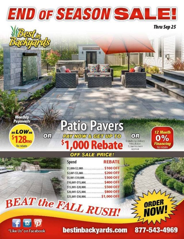 Patio Pavers September Cover