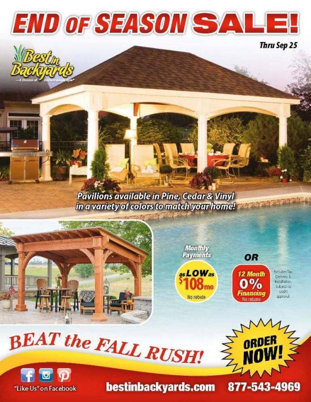 Pavilions September Cover
