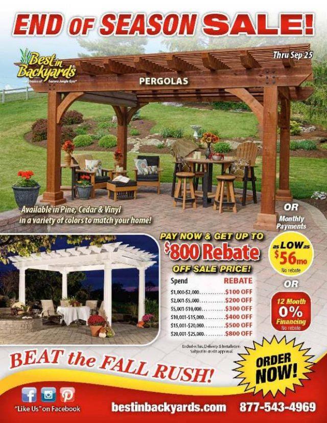 Pergola September Cover