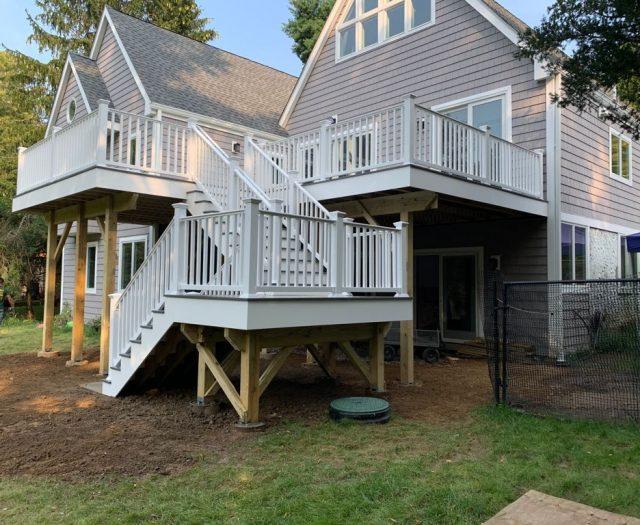 Best in Backyards Deck Install